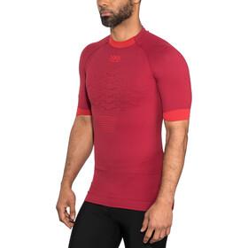 X-Bionic The Trick G2 Koszulka do biegania z krótkim rękawem Mężczyźni czerwony